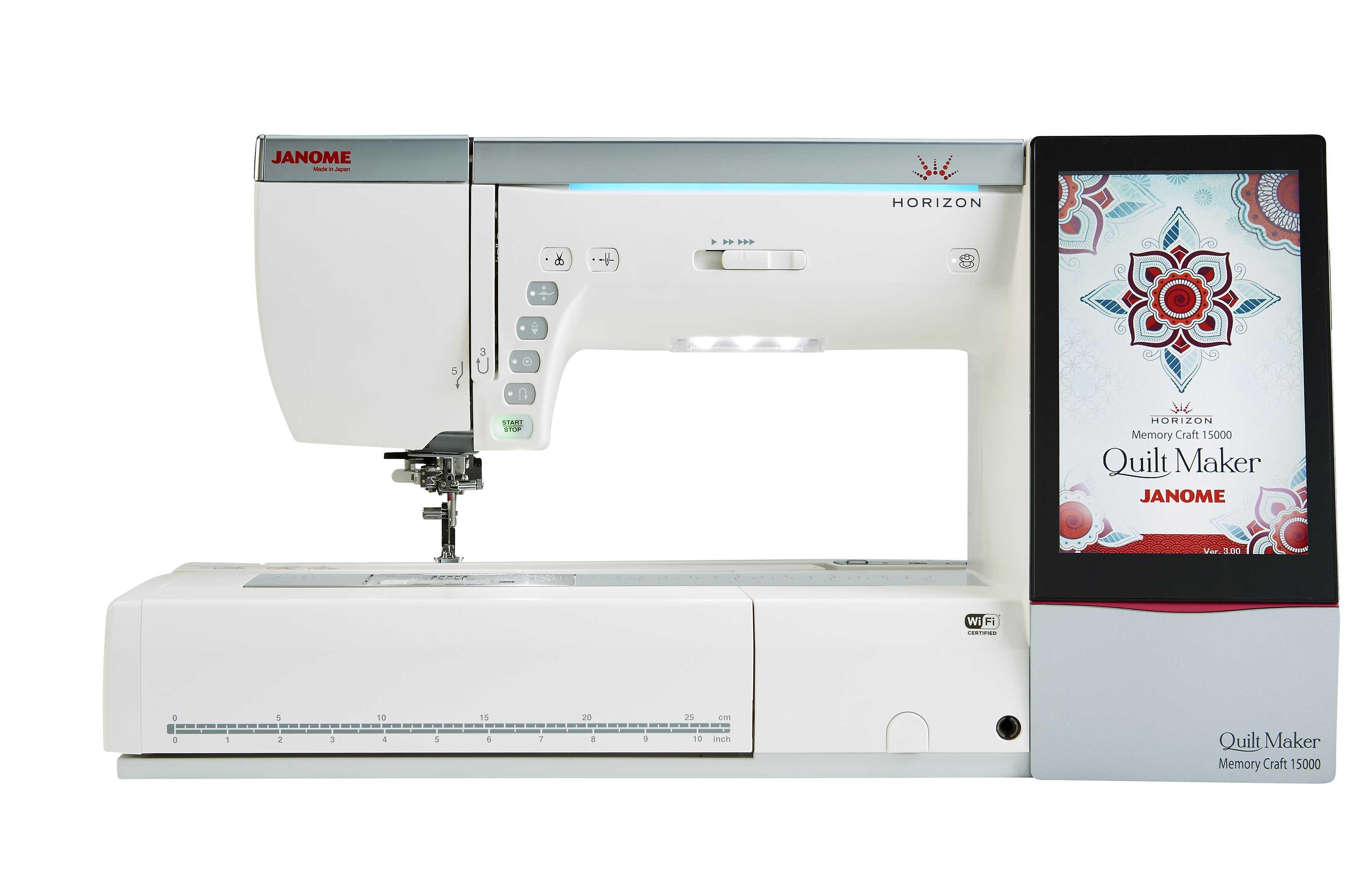 Janome Horizon Memory Craft 15000 With Quilt Maker Upgrade